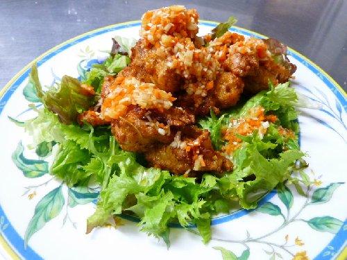 塩麹 とり肉料理