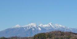甲府からの八ヶ岳