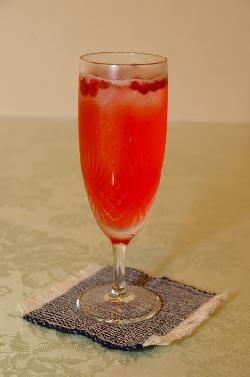 赤房スグリのジュース