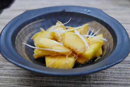 イトウリ(素麺カボチャ)の中華漬け