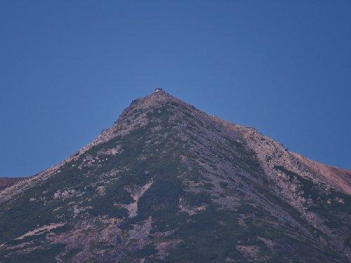乗鞍岳山頂