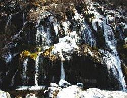 冬の吐龍の滝