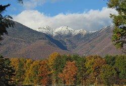 白くなった八ヶ岳