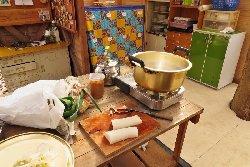 快適に調理ができます。