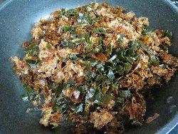 鰹節と昆布の佃煮
