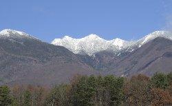 八ヶ岳がまっ白