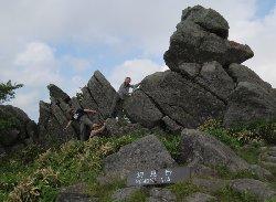 物見岩(1780m)
