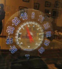 """外気温-10.5℃"""""""""""