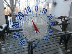 午前7時19分 -10℃