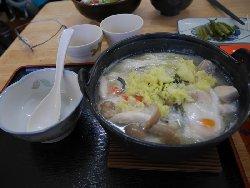 鍋焼きうどん(塩or味噌)</