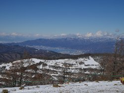 諏訪湖もよく見えます