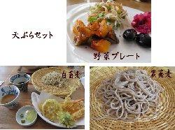 蕎麦・天ぷらセット