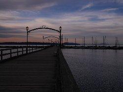 おしゃれな桟橋