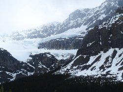 クロウフット氷河(Crowfoot Glacier)