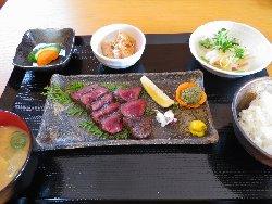 鹿ロースト定食 2000円