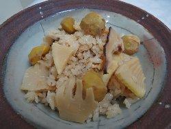 筍&栗ご飯