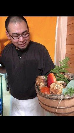 きのこの天ぷら