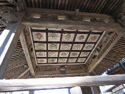神楽殿の天井