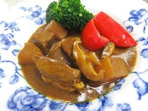 牛肉と大根のカレー