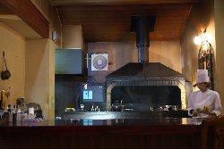 暖炉レストラン